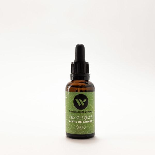 Aceite con extracto de Cannabis Sativa CBD