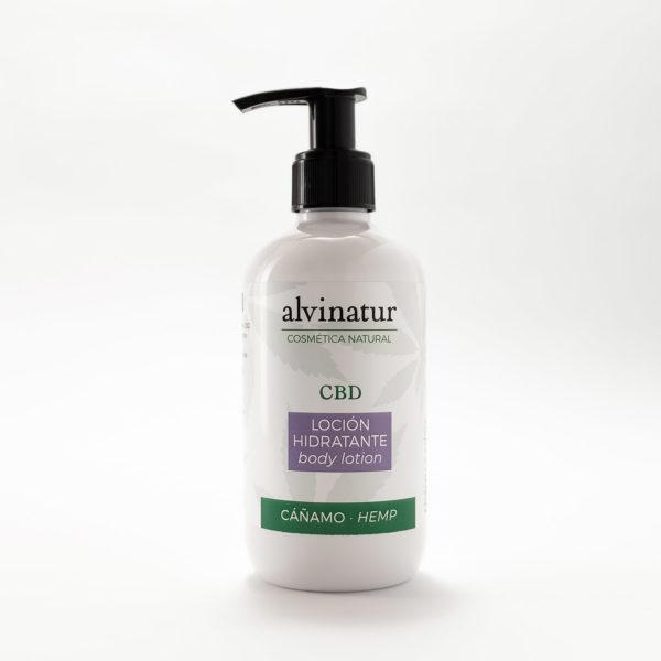 Loción hidratante de cáñamo con CBD orgánico 250ML