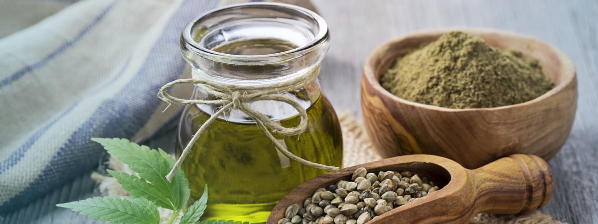 aceite de cbd y especias para la cosmetica