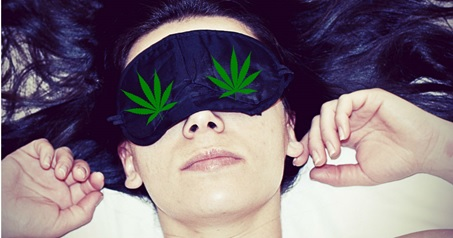Cannabis and insomnia, woman-sleeping-cbd